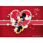 Фотообои 4-015 Minnie Mouse